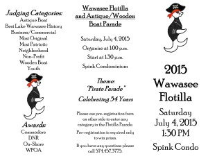 2015 Flotilla Flyer Registration front